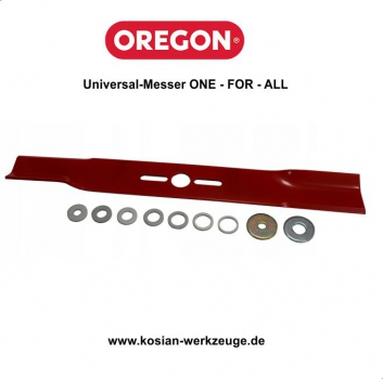 Oregon gerades Universal-Messer ONE-FOR-ALL 37 cm