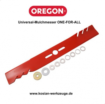 Oregon gerades Universal-Mulchmesser ONE-FOR-ALL 45,1 cm