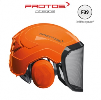 Pfanner PROTOS Integral FOREST Forsthelm Orange